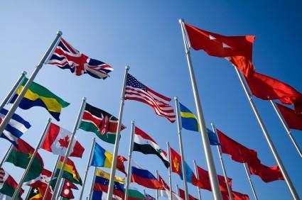 foreign policy-international flags