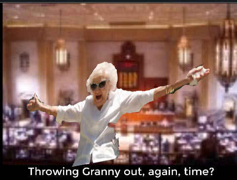 granny throw 5