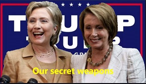 hillary pelosi InPixio secret weapons