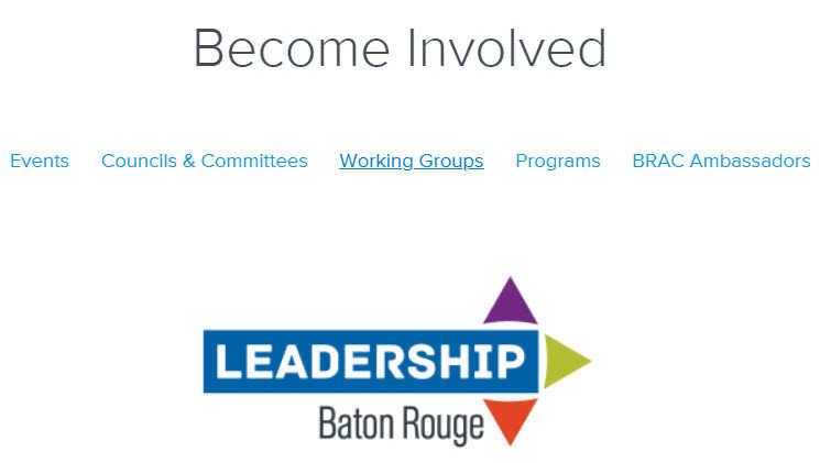 Capitol S Chamber Brac Selects 2019 Baton Rouge Leadership Class