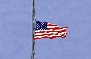 flag-mourning
