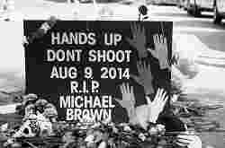 Memorial to Michael Brown 8