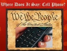 cell phone constitution