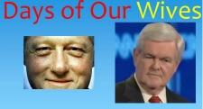 clinton-newt-wives