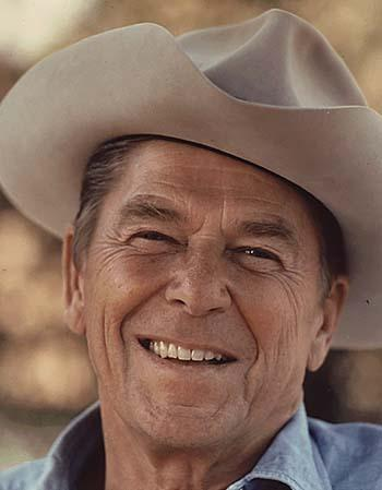 cowboy hat ronald reagan