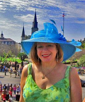 Margarita Bergen, New Orleans Events