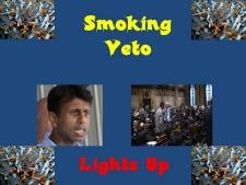 Louisiana Smoking veto