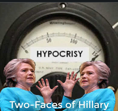 two hillary face 4